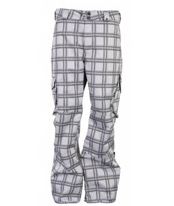 Burton Cargo Snowboard Pants Bright White Shadow