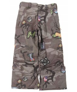 Burton Cargo Snow Pants Camo Patches