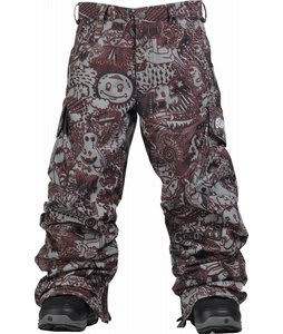 Burton Cargo Snow Pants Gunmetal Opti 3D