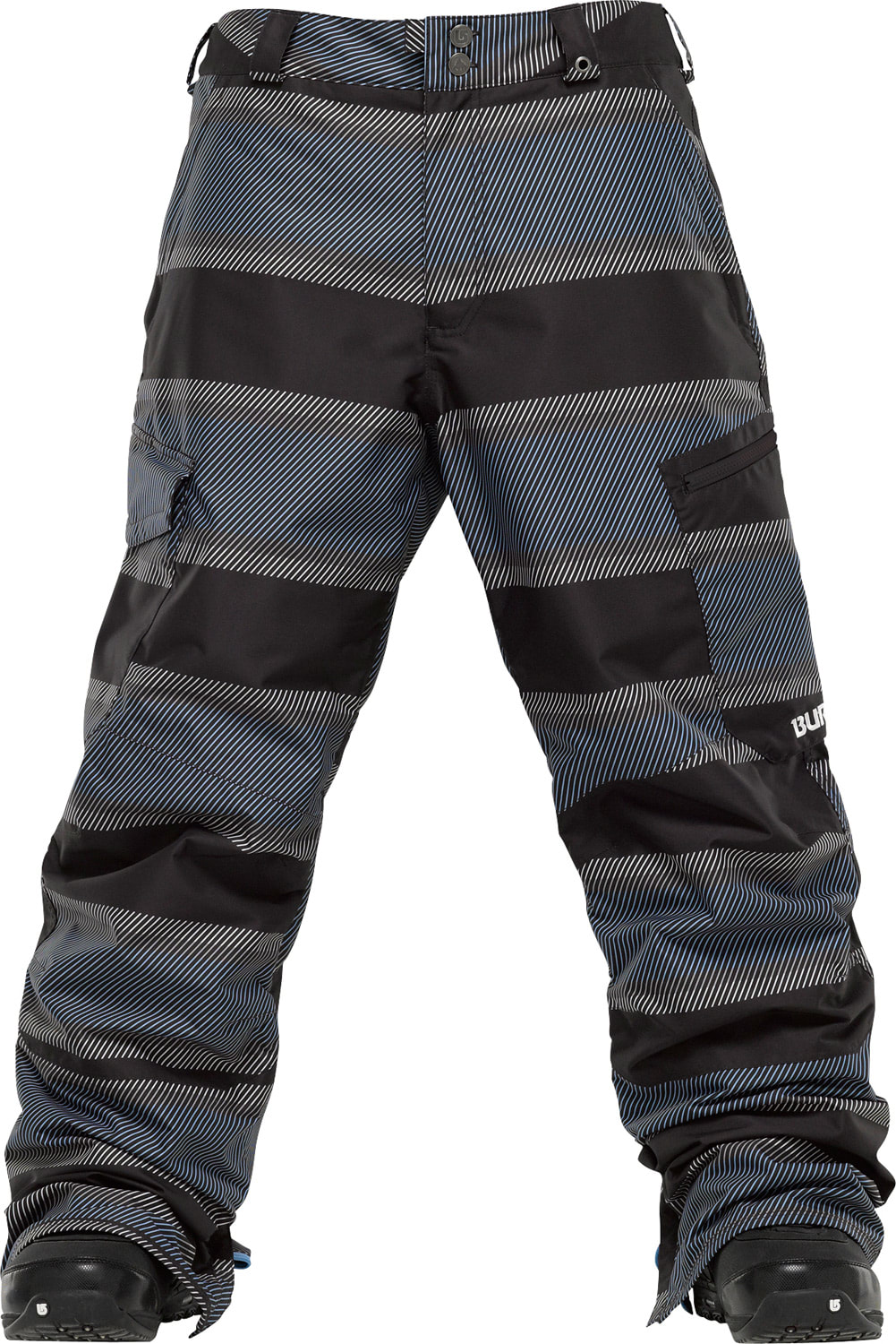 Shop for Burton Cargo Snowboard Pants Blue 23 Pandhandle Print - Men's