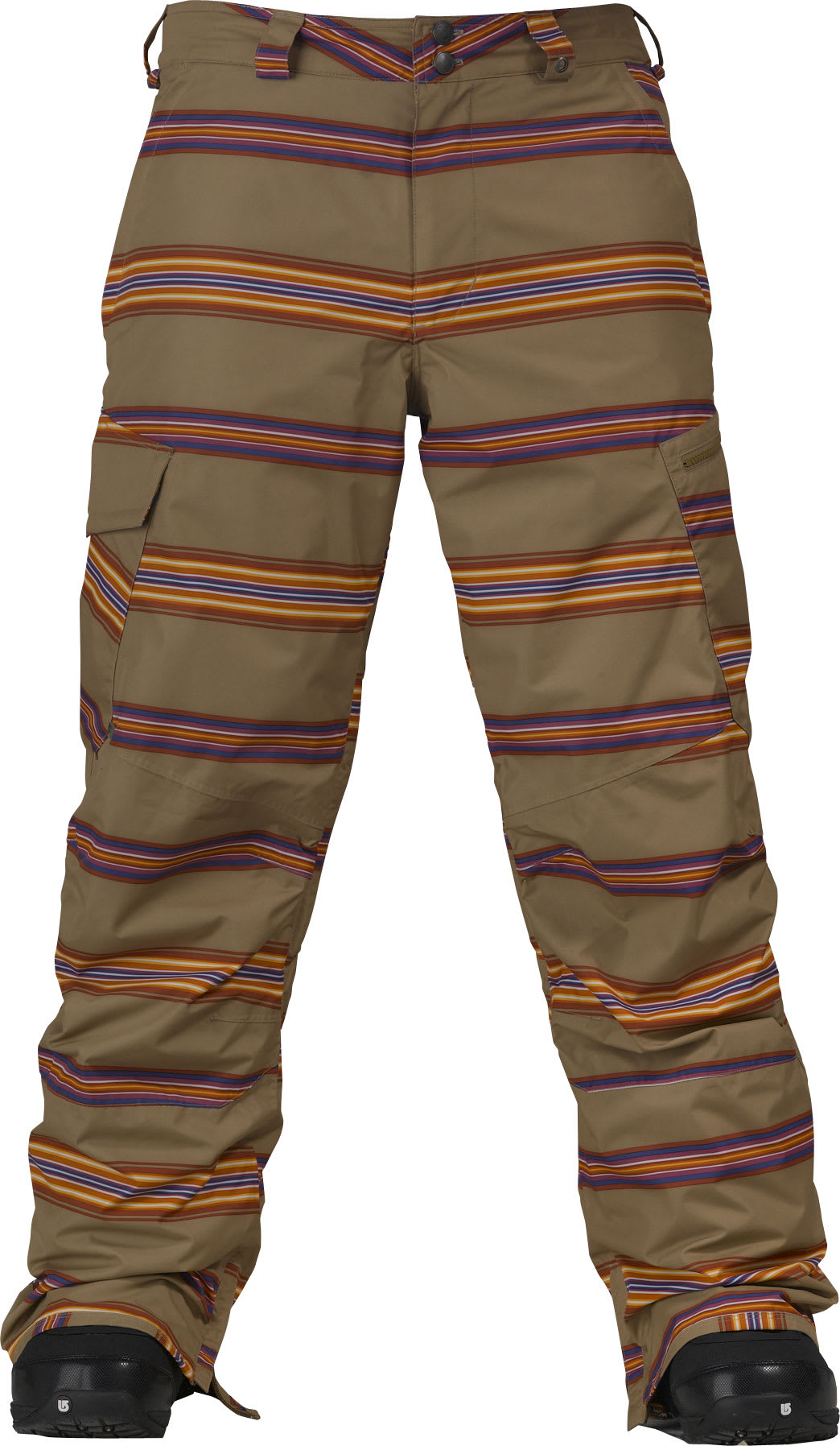 Shop for Burton Cargo Snowboard Pants Cardboard Bandwidth Stripe - Men's