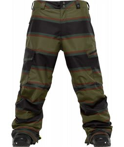 Burton Cargo Snowboard Pants Gold Medal Panhandle Print