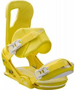 Burton Cartel Snowboard Bindings Mustard/White