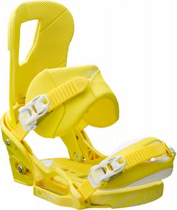 Burton Cartel EST Snowboard Bindings Mustard/White
