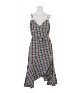 Burton Cavalry Dress Cocoa Plaid