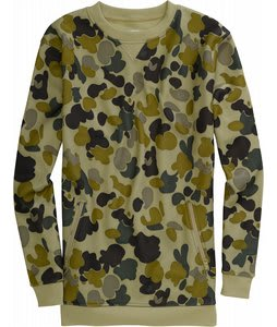 Burton Chapin Crew Fleece Grayeen Fowl Camo