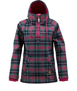 Burton Charlatan Flannorak Snowboard Jacket Hex Radiant Plaid
