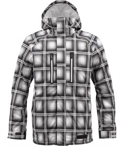 Burton Checkpoint Jacket Graph Ghost Plaid