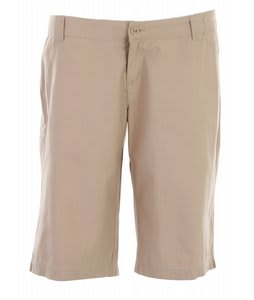 Burton Check Point Shorts Dark Sand