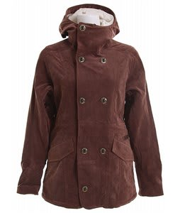 Burton Cherish Snowboard Jacket Chestnut Cord