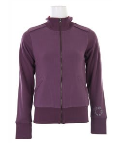 Burton Chess Club Track Jacket Eggplant