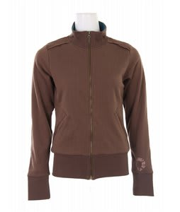 Burton Chess Club Track Jacket Roasted Brown
