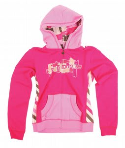 Burton Chicklet Hoodie Bright Rose