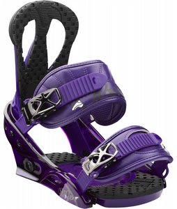 Burton Citizen Snowboard Bindings Purple