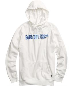 Burton Classic Horizontal Pullover Hoodie Stout White