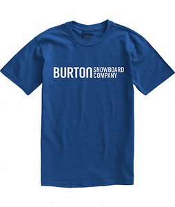 Burton Classic Horizontal T-Shirt Royals