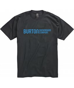 Burton Classic Horizontal T-Shirt True Black