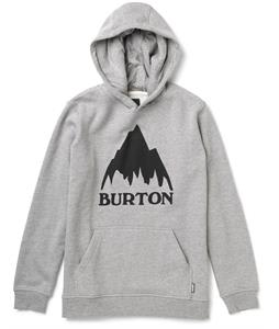 Burton Classic Mountain Pullover Hoodie Heather Gray