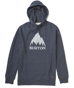 Burton Classic Mountain Recycled Pullover Hoodie Heather Eclipse