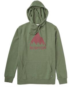 Burton Classic Mountain Recycled Pullover Hoodie Heather Olive