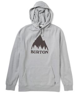Burton Classic Mountain Recycled Pullover Hoodie Heather Pewter