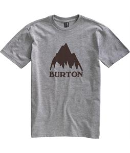 Burton Classic Mountain T-Shirt Heather Grey
