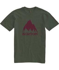 Burton Classic Mountain T-Shirt Heather Olive