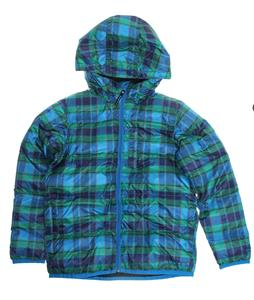Burton Clone Insulator Snowboard Jacket Blue-Ray Switch Plaid