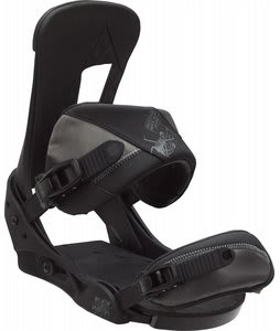 Burton Cobrashark Snowboard Bindings Black Snake