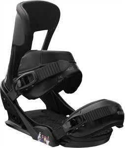 Burton Cobrashark Snowboard Bindings Raven-Esque