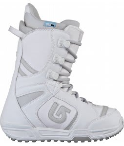 Burton Coco Snowboard Boots White/Silver