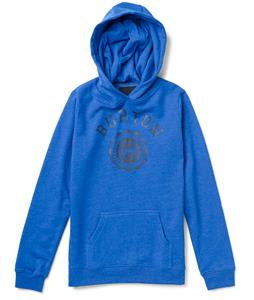 Burton Co-Ed Pullover Hoodie Heather Cobalt Blue