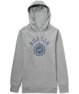 Burton Co-Ed Recycled Pullover Hoodie Heather Pewter