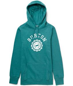 Burton Co-Ed Recycled Pullover Hoodie Heather Tidal Bore