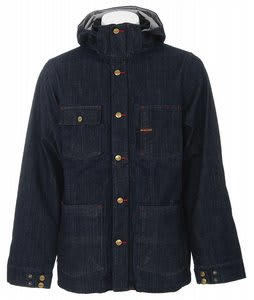 Burton Commisary Denim Jacket Raw Denim