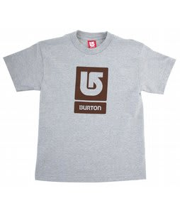 Burton Corp Vertical T-Shirt Athletic Heather