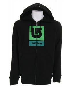 Burton Corp Logo Vertical Fullzip Hoodie