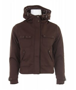 Burton Cosmo Knit Jacket Burnt Chestnut