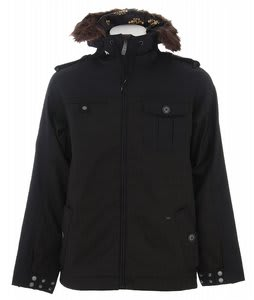 Burton Captain Tripps Snowboard Jacket True Black