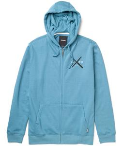 Burton Create & Destroy Full-Zip Hoodie Storm Blue