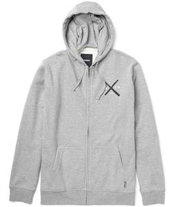 Burton Create & Destroy Full-Zip Hoodie Heather Grey