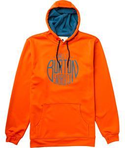 Burton Crown Bonded Pullover Hoodie Orangeyouglad