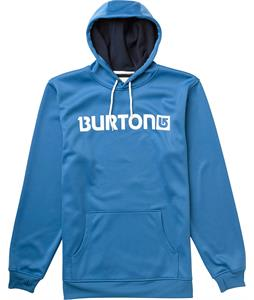 Burton Crown Bonded Pullover Hoodie Synth Blue