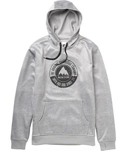 Burton Crown Bonded Pullover Hoodie Ash Heather Work