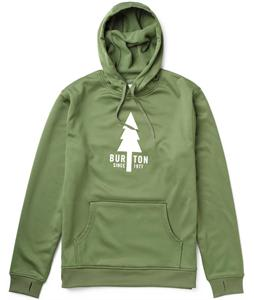 Burton Crown Pullover Bonded Hoodie Olive