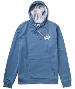 Burton Crown Pullover Bonded Hoodie Team Blue