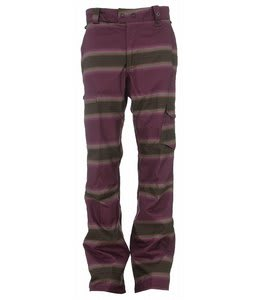 Burton Cosmic Delight Snowboard Pants Mocha Faded Stripe Print