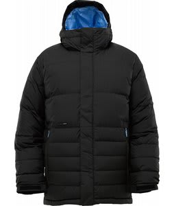 Burton Cushing Down Snowboard Jacket True Black