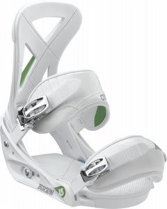 Burton Custom Snowboard Bindings White