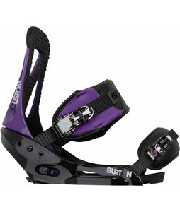 Burton Custom EST Snowboard Bindings Purple